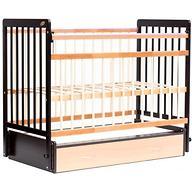 Кровать детская Bambini Евро стиль М 01.10.04 Темный орех+Натуральный