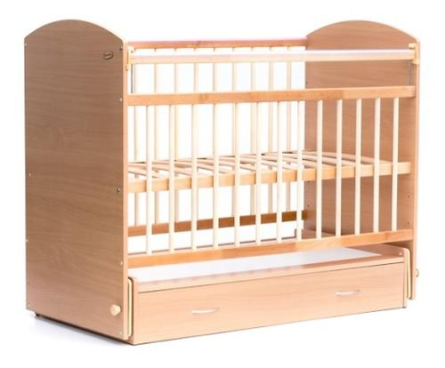 Кровать детская Bambini Элеганс M 01.10.07 Натуральный (1)