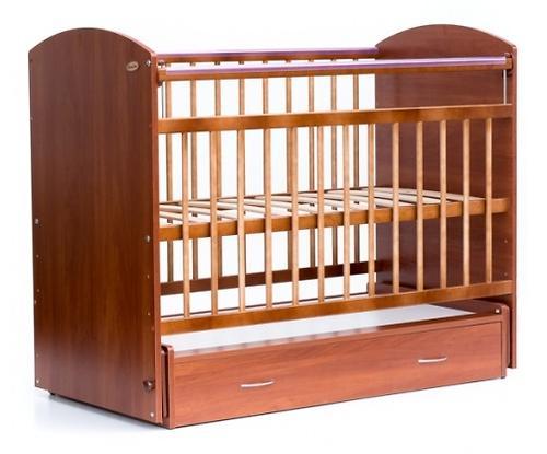 Кровать детская Bambini Элеганс M 01.10.07 Светлый орех (1)
