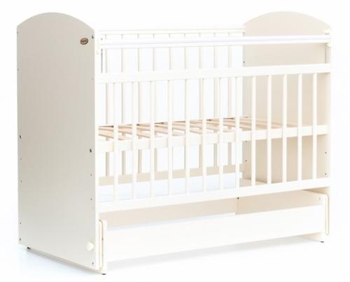 Кровать детская Bambini Элеганс М 01.10.08 Слоновая кость (1)
