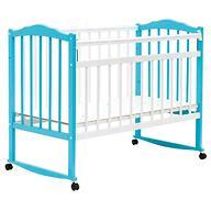 Кровать детская Bambini Классик М 01.10.09 Бело-Голубой