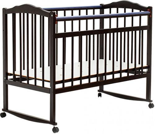 Кровать детская Bambini Классик M 01.10.09 Темный орех (1)