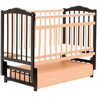 Кровать детская Bambini Классик М 01.10.10 Темный орех+Натуральный