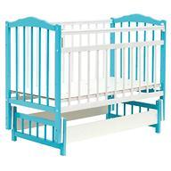 Кровать детская Bambini Классик М 01.10.11 Бело-Голубой