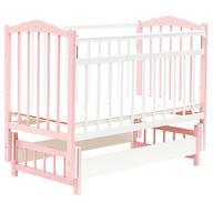 Кровать детская Bambini Классик М 01.10.11 Бело-Розовый