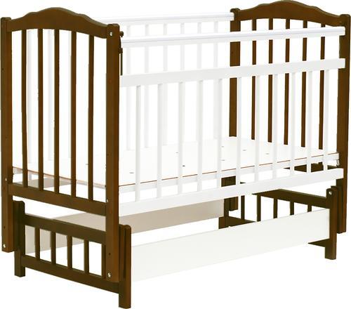 Кровать детская Bambini Классик М 01.10.11 Темный орех+Натуральный (1)