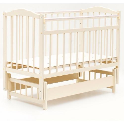 Кровать детская Bambini Классик M 01.10.11 Слоновая кость (1)
