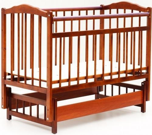 Кровать детская Bambini Классик M 01.10.11 Светлый орех (1)
