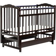 Кровать детская Bambini Классик M 01.10.11 Темный орех