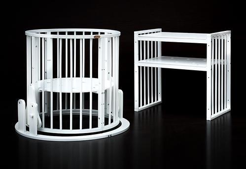 Маятник к кровати Bambini М 01.10.14 Белый (8)