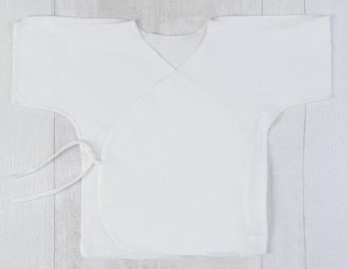 Распашонка BamBoo на завязках c коротким рукавом в ассортименте (8)