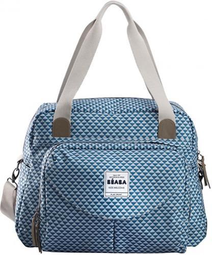 Сумка для мамы Beaba Changing bag Geneva II Blue (10)