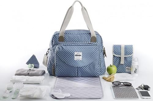 Сумка для мамы Beaba Changing bag Geneva II Blue (16)
