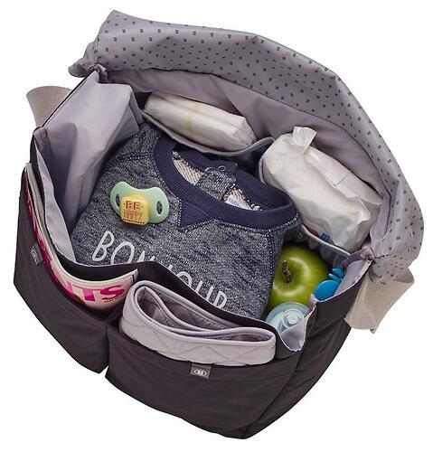 Сумка для мамы Beaba Changing bag Vienna Taupe 2017 (13)