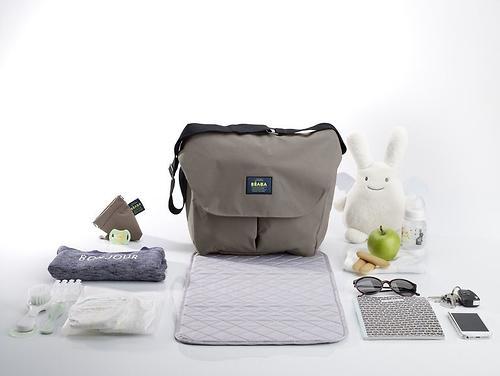 Сумка для мамы Beaba Changing bag Vienna Taupe 2017 (10)