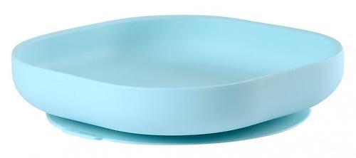 Тарелка Beaba Silicon Suction PlateBlue (1)