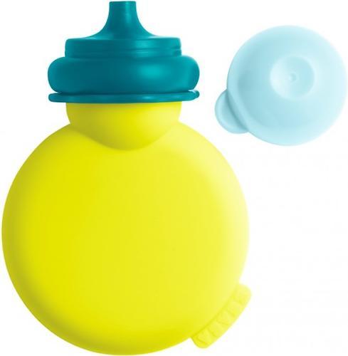 Контейнер Beaba для пюре из силикона Babypote Neon Blue (8)