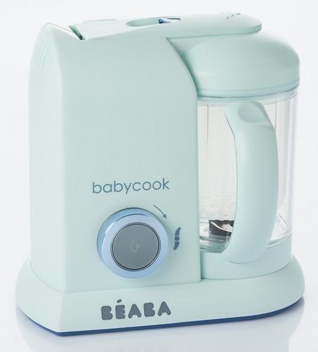 Блендер-пароварка Beaba Babycook Limited Edition Macaron Aquamarine (7)