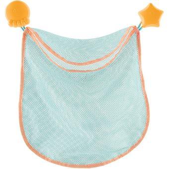 Сетка Bebe Confort для игрушек на стену в ванную комнату на присосках - Minim