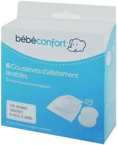 Прокладки Bebe Confort BAMBOO многоразовые для груди 6 шт (3)