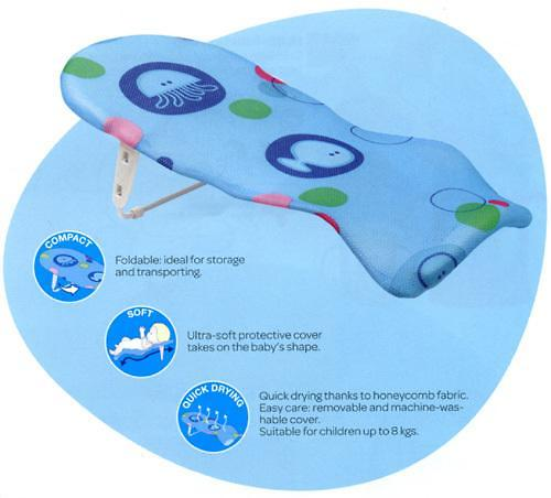 Лежак в ванну Bebe Confort мягкий 0-6 мес (4)