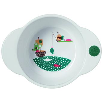 Глубокая тарелка Bebe Confort белая 18-36m+ - Minim