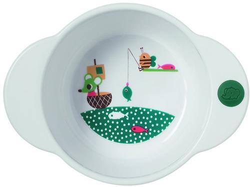 Глубокая тарелка Bebe Confort белая 18-36m+ (3)