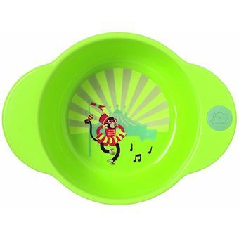 Глубокая тарелка Bebe Confort зеленая 18-36m+ - Minim