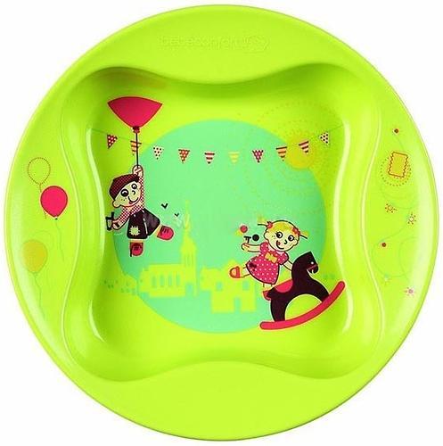 Тарелка с крышкой Bebe Confort зеленая 6m+ (4)