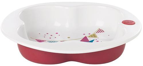 Тарелка BC пластиковая мелкая белая 18-36m+ Premium (4)