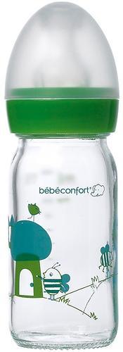 Бутылочка Bebe Confort стеклянная 110 мл 0-6 мес (1)