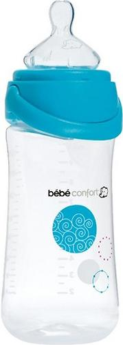 Бутылочка пластиковая Bebe Confort 270 мл 0-12 мес Natural comfort Easy clip Голубая (3)