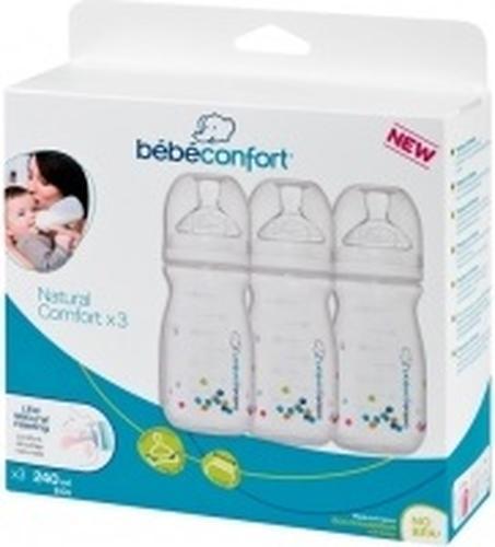 Бутылочки Bebe Confort Natural Comfort 3 шт (3)
