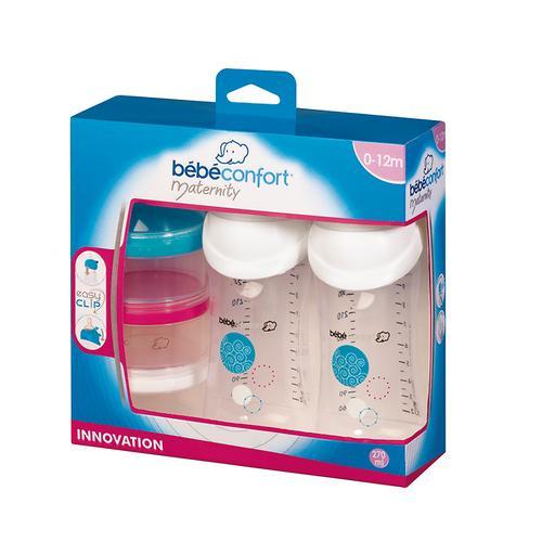 Бутылочка Bebe Confort Easy Clip 2шт и дозатор для молока (4)