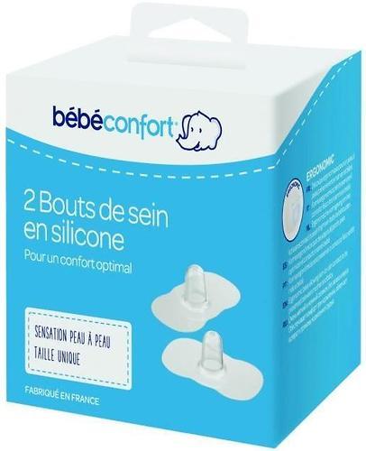 Накладки для груди Bebe Confort силиконовые M (средний размер) 2 шт/уп (3)