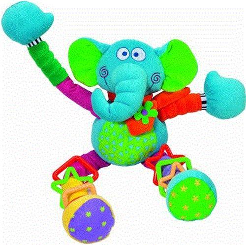 Bebe Confort Игрушка - погремушка CRAZY Elephant 3м+ (4)