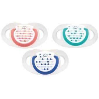 Пустышка Bebe Confort Dental латекс 18-36м 2шт с ассортименте - Minim