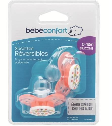 Пустышка Bebe Confort силикон Dental safe Dummies Silicone 0 мес+ (1)