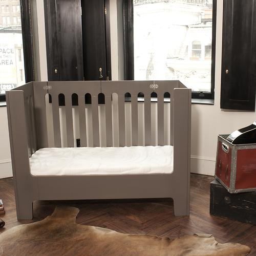 Панель Bloom Bed Rail на детскую кроватку Alma Papa Frost Grey (6)