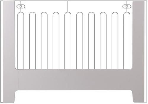 Панель Bloom Bed Rail на детскую кроватку Alma Papa Frost Grey (5)
