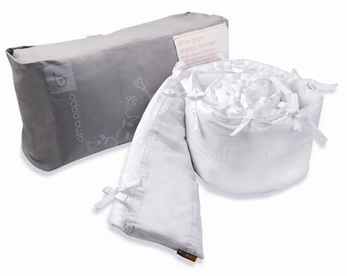 Бортики в кроватку Bloom Alma Papa цвет coconut white (8)