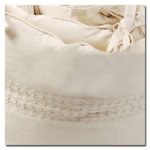 Бортики в кроватку Bloom Alma Papa цвет coconut white (9)