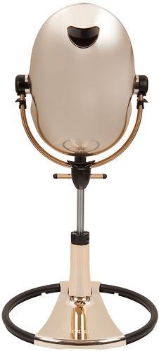 Стульчик для кормления Bloom Fresco Chrome Rose Gold c вкладышем Lunar Silver (15)