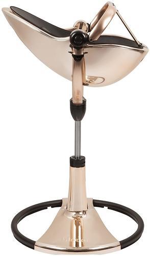 Стульчик для кормления Bloom Fresco Chrome Rose Gold c вкладышем Lunar Silver (16)