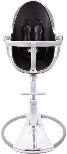 Стульчик для кормления Bloom Fresco Chrome Silver c вкладышем Midnigh Black (8)