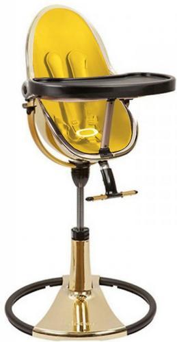 Стульчик для кормления Bloom Fresco Chrome Yellow Gold c вкладышем Canary Yellow (13)
