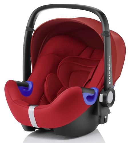 Автокресло Britax Baby-Safe i-Size + база Flex Flame Red (4)