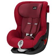 Автокресло Britax Römer King II Black Series Flame Red Trendline
