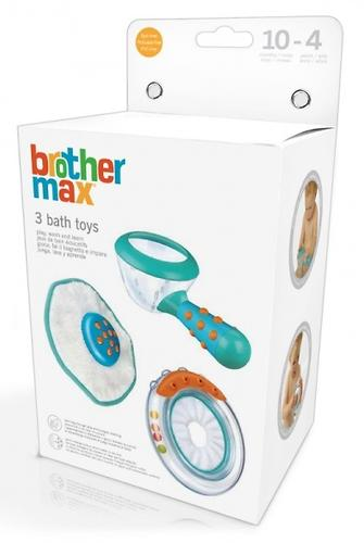 Игрушки для купания Brother Max Комплект 3 шт (7)