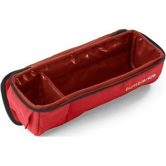 Пенал для еды-бампер Bumbleride Snack Pack цвет Cayenne Red - Minim